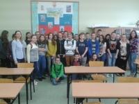 Konkurs językowy w Publicznym Gimnazjum w Prostkach